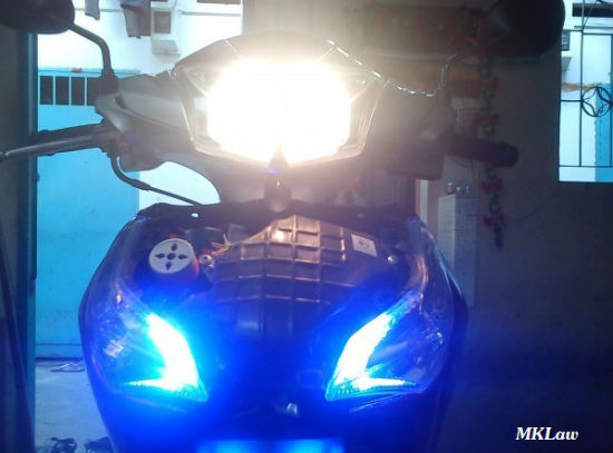 den led xe future 125